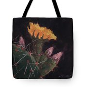 Blossom And Needles - Art By Bill Tomsa Tote Bag