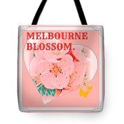 Blossom In Melbourne Tote Bag