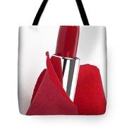 Blossom Lipstick Tote Bag