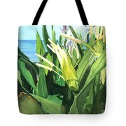 Blossoming Butterfly Ginger Tote Bag