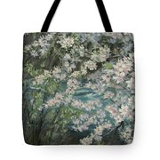 Blossoming River Tote Bag