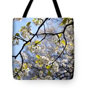 Blossoms And Leaves Tote Bag