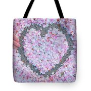 Blossoms Of Love - Cherry Blossoms 2013 - 071 Tote Bag