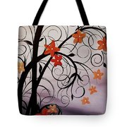 Blossoms Of The Orient Tote Bag