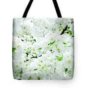 Blossoms Squared Tote Bag