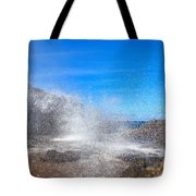 Blow Hole Blow Out Tote Bag