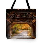 Blow-me-down Covered Bridge Cornish New Hampshire Tote Bag