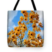 Blowin In The Wind Tote Bag by Kristin Elmquist
