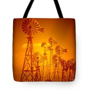 Blowin In The Wind V2 Tote Bag