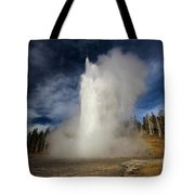 Blowing Off Some Steam Tote Bag