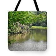 Blowing Rock Lake Tote Bag