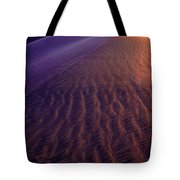 Blowing Sand At Death Valley Tote Bag