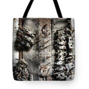 Blown Circuit Tote Bag