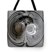 Blown Out Filament Tote Bag