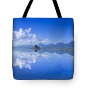 Blue Mokolii Tote Bag