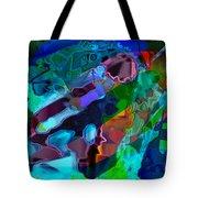 Blu Slot Tote Bag
