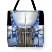 Blue 1937 Chevy Too Tote Bag