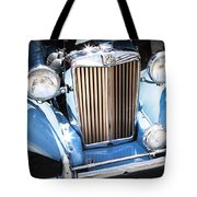 Blue 1953 Mg Tote Bag