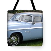 Blue 1955-56 Chrysler Tote Bag