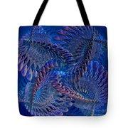 Blue 3 Tote Bag