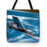 Blue 57 Chevy Bel Air Tote Bag
