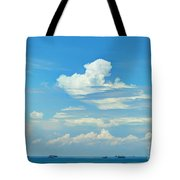 Blue A Sailors Delight Tote Bag