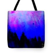 Blue Abstact  Tote Bag