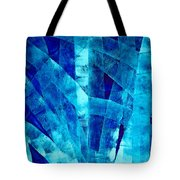 Blue Abstract Art - Paths - By Sharon Cummings Tote Bag