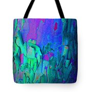 Blue Abstract Trunk Tote Bag