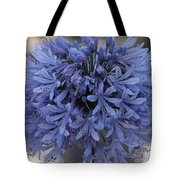 Blue Agapanthus Tote Bag