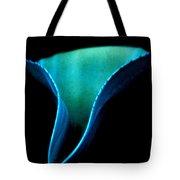 Blue Agave Vertical Tote Bag