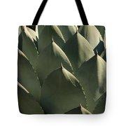 Blue Aloe Tote Bag by Ellen Henneke