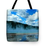 Blue And More Blue Tote Bag