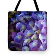 Blue And Purple Hydrangeas Tote Bag