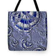 Blue And Silver 1 Tote Bag