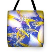 Blue And Yellow Autumn Tote Bag
