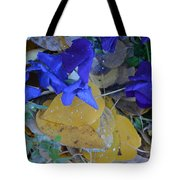 Blue And Yellow Not Making Green Tote Bag