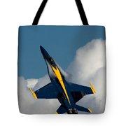 Blue Angel 6 Condensation Climb Tote Bag