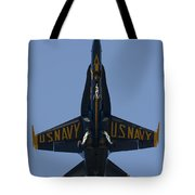Blue Angel F/a-18 Tote Bag