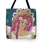 Blue Angel Tote Bag