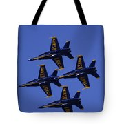 Blue Angels Tote Bag by Bill Gallagher