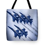 Blue Angels Fa 18 V19 Tote Bag