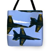 Blue Angels II Tote Bag