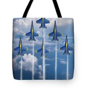 Blue Angels Tote Bag by J Biggadike