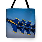 Blue Angels Single File Tote Bag