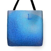 Blue Apple Tote Bag