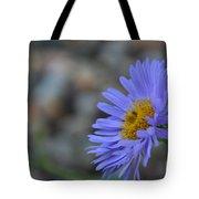 Blue Aster Tote Bag