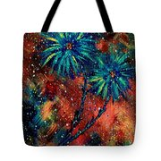 Blue Asters Tote Bag