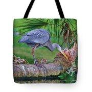 Blue At Dunlawton Tote Bag
