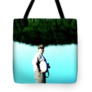 Blue Avery Tote Bag